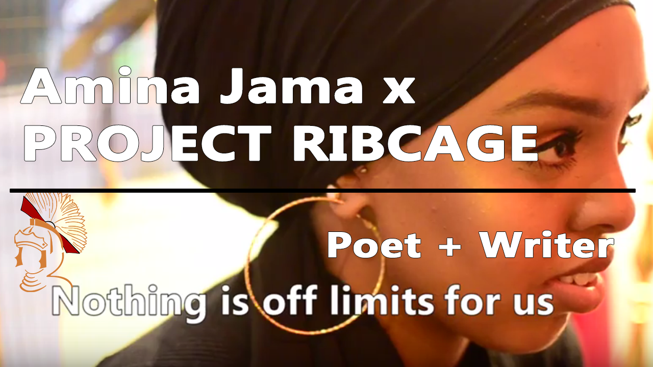 amina jamma poet project ribcage interview